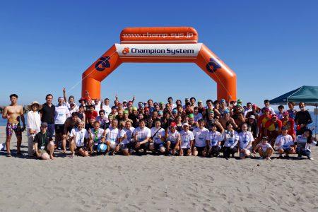 OWSTOYAMABAY2019は52人全員が完泳しました
